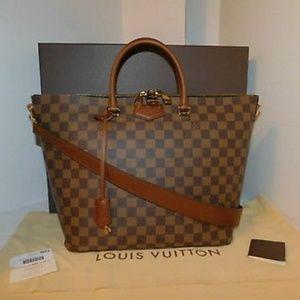Louis Vuitton Belmont Damier Ebene Shoulder bag